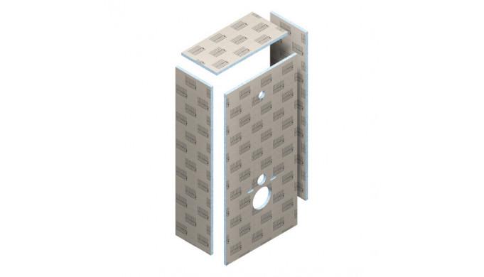 Obklad TEC-VWD pre podomietkové WC s konštrukciou