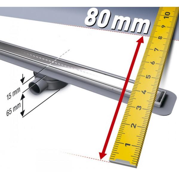 Sprchový žľab LINEARIS Compact 750 mm