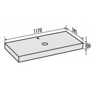 Bezbariérové umývadlo LAVADO TYP G č. LLAVE5001