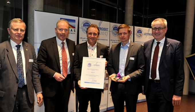 Združenie KUMAS udelilo ocenenie firme KESSEL AG